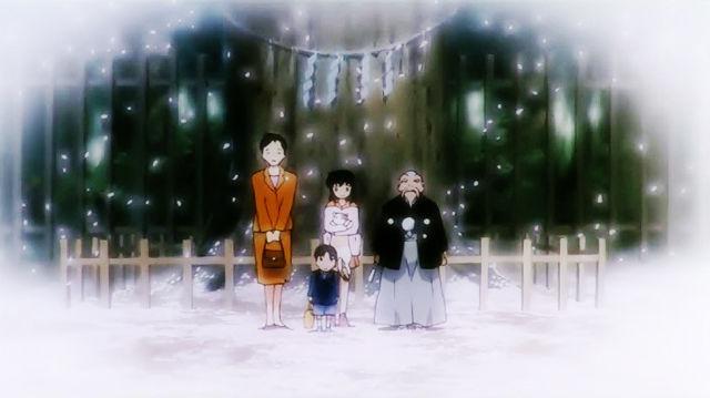 动画同名主题曲《穿越时空的思念》,由和田熏谱曲,原版动画中共有两个