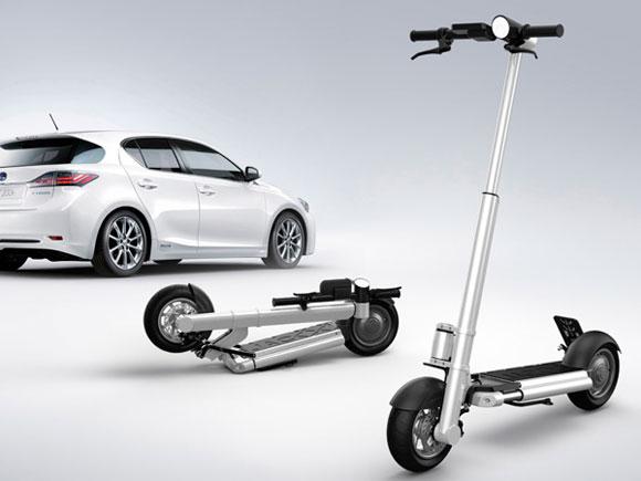 这是一款电动环保新型滑板车