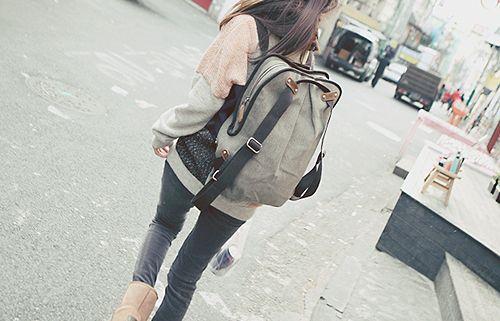 唯美图片:背包旅行